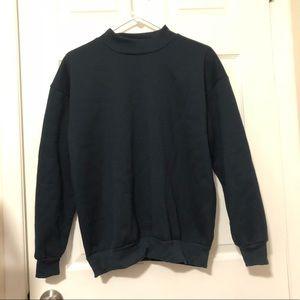 Sweaters - CREWNECK SWEATSHIRT NAVY